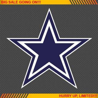 Dallas Cowboys NFL Football Logo Car Bumper Window Wall Sticker