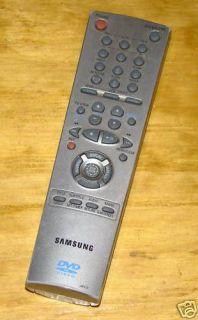 Samsung 00052B TV DVD Remote Control for F278