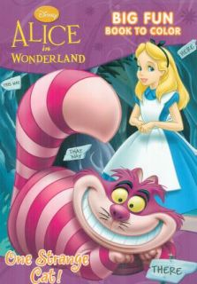 Disney Alice in Wonderland Coloring and Activity Book for Children