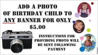 Rio Movie Birthday Party Banner Decorations with Childs Name