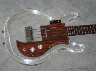 1969 Ampeg Dan Armstrong Bass Vintage Original DAB0002