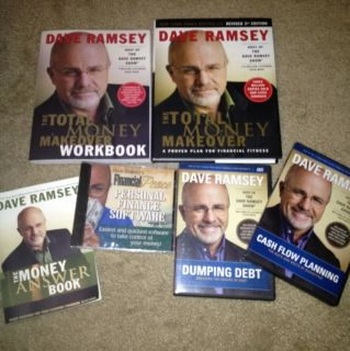 NEW Dave Ramsey Total Money Makeover Kit Incl Book, Software,Workbk