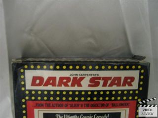 Dark Star VHS Dan OBannon John Carpenter