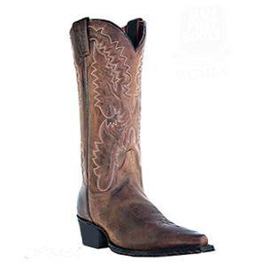 Dan Post Genuine Leather Womens Boots Santa Rosa Bay Apache DP3464