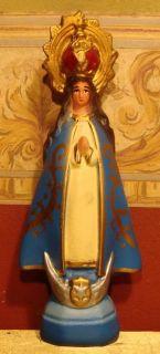 Virgin Virgen Del Valle Mary Maria Statue Imagen