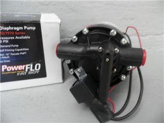 Delavan PowerFlo Fat Boy Diaphragm Water Pump 12V Up to 150 PSI 7 GPM