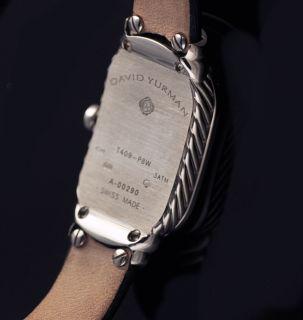David Yurman 18k Gold 750 Watch MOP Diamond Watch