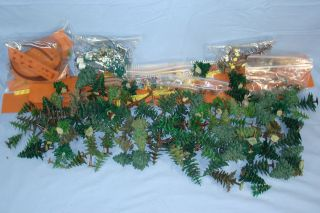 Vintage HO Preiser Deer Faller Trees Made in Germany Forest Park Model