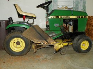 John Deere 111 Lawn Tractor Manual for Parts or Restoration