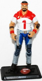 David Red Dog Taputapu Gi Joe Sgt Slaughters Marauders 30th Ann 3 3 4
