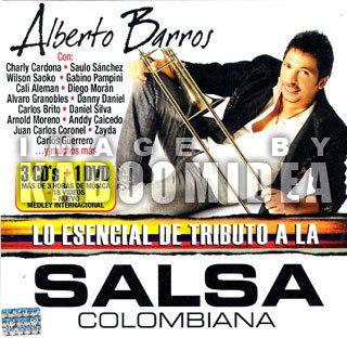 Alberto Barros Lo Esencial de Tributo A La Salsa Colombiana 3 CDs 1