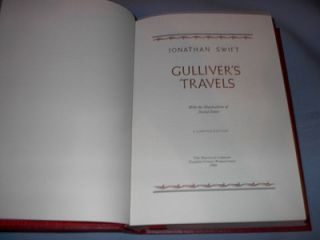 Gullivers Travels Jonathan Swift 1982 Great Books Western World