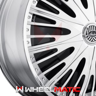 Set of 4 New Davin Spinners Twisted 26x10 Blank 5x 6x +10 Wheels Rims