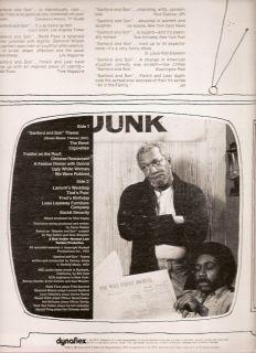 TV OST LP Sanford and Son Quincy Jones Redd Foxx 1972 RCA Victor VG