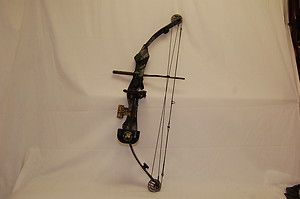 PSE Lightning Flite Game Sport Series Compound Bow Used