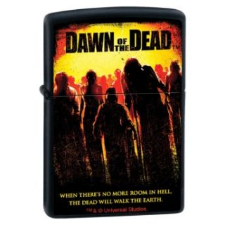 Dawn of The Dead Title Universal Studios Black Matte Zippo Lighter