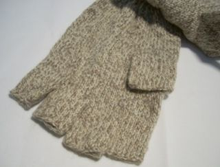 Danielson Hunt Fishing Ragwool Fingerless Gloves Wool