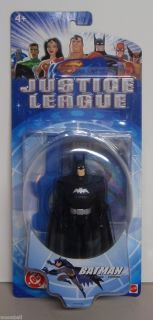 RARE Justice League DC Comics Batman Action Figure Mattel 2003