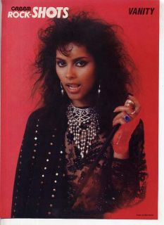 Mini Poster Pin Up Vanity 6 Denise Matthews Smith Prince LK9