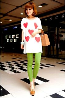Lady Candy Slim Stretch Colorful Pencil Fit Feet Casual legging Pants