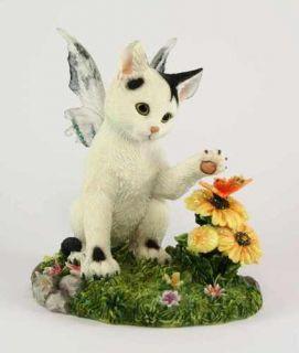 darby fairy cat figurine faerie glen collection