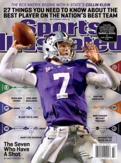 Sports Illustrated Collin Klein Kansas State Wildcats BCS 2012 No