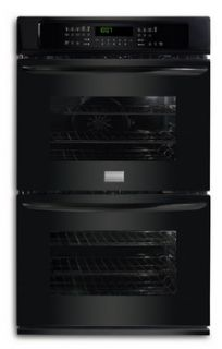 New Scratch & Dent 30 Black Electric Double Wall Oven