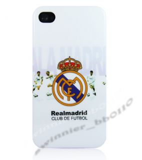 Real Madrid Football Club iPhone 4S 4 4G Back Housing Cover Case Hard