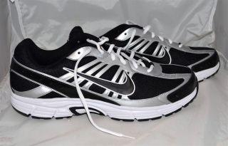 Nike Dart 8 Black White Silver Mens Running Shoes 395841 003 Sz 13 New