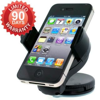 Duogreen Windshield Dashboard Car Mount Holder for iPhone 4S