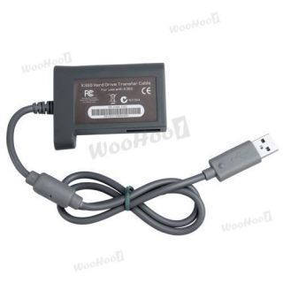 USB Hard Drive HDD Data Transfer Cable Kit for Xbox 360