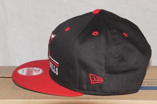 New Era Chicago Bulls NBA Derick Rose Hat Cap 9Fifty One Size Snapback