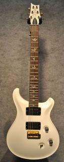 PRS Dave Navarro Signature Guitar in Jet White Finish