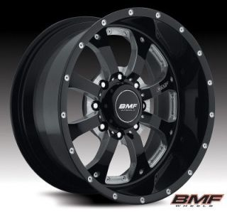 BMF Wheels 461B 090818000 Novakane 8 Death Metal Black 20x9 Bolt 8x180