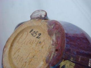 Deaver Craft 1970 Modern Art Studio Signed Pottery Vase