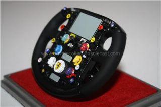 Amalgam Ferrari 2007 F2007 F1 Steering Wheel Raikkonen Massa 1/4