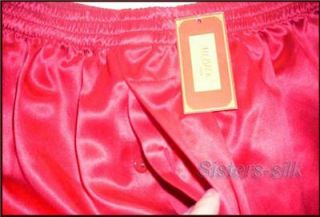 Mens Silk Charmeuse Boxer Shorts ● SU216 Free P P