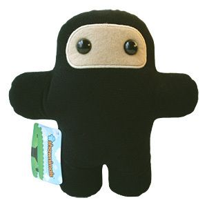 Wee Ninja Designer Plush Toy Doll Shawnimals