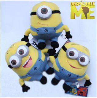 Despicable Me Minion Fan Souvenirs Plush Toy 3D Stuffed Animal 3x