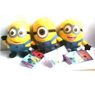 Despicable Me Minion Plush Toy Set of 3 Stewart Dave Jorge New w Tag 6