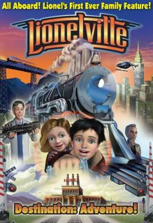 Lionelville Destination Adventure DVD LIO35526 Factory Box not Opened