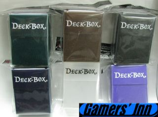 Ultra Pro Set of 6 Colors Lot #2 x1 MTG New Deck Boxes Deck Box