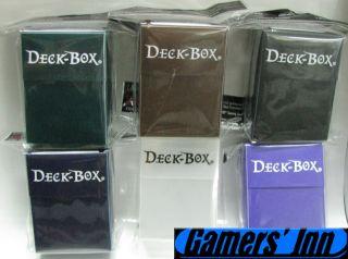 Ultra Pro Set of 6 Colors Lot #2 x1 MTG New Deck Boxes Deck Box