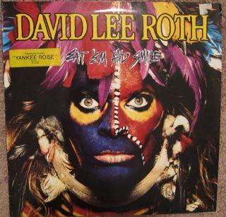 David Lee Roth Eat Em and Smile LP German