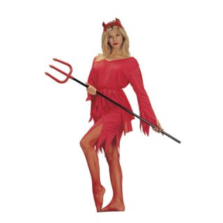 Sexy Devil Womens Devil Halloween Costume Sz Standard
