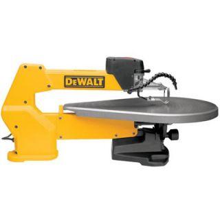 Dewalt DW788 20 Heavy Duty Variable Speed Scroll Saw