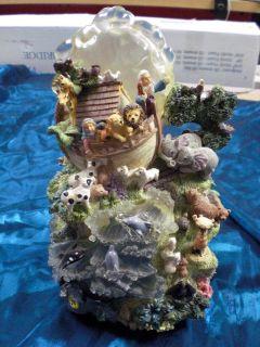 Noahs Ark Figurine Music Box and Light Up