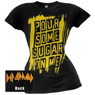 Def Leppard Pour Some Sugar Juniors T Shirt