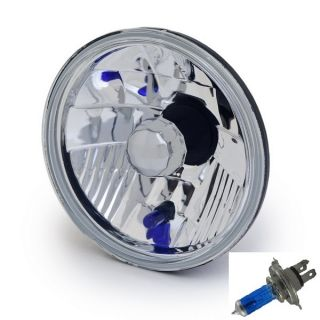 Halogen Euro Diamond Crystal Clear Headlight Headlamp Light Bulb