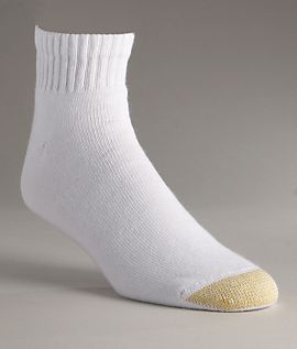 Gold Toe Men's Sport Ankle Socks 6 Pack Hosiery